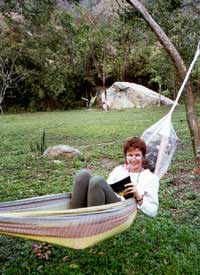 Writing Retreats founder Patricia Lee Lewis in Los Naranjos