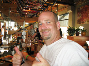 Chris' 400th brewery, Hopworks Urban in Portland, Oregon