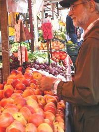 The Torino public market.