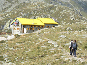Mountain hut Pontese, outside of Torino. Photos by Max Hartshorne.