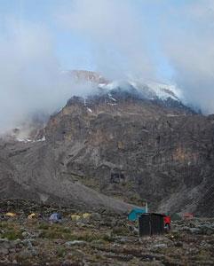 The legendary snows of Kilimanjaro