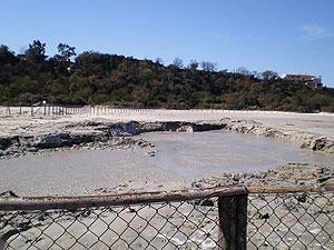 Mud lake at Soltara