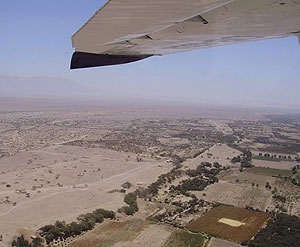 Flying over Nazca
