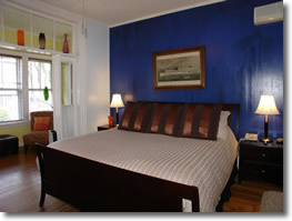 Room at the Somerset House in Provinctown, Massachusetts