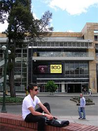 The elegant El Retiro shopping center.