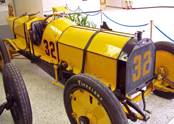 The Marmon Wasp that won the first race in 1911