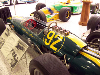 The 1963 Ford Lotus