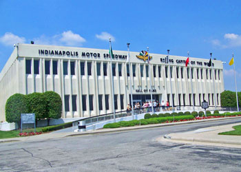 The Hall of Fame Museum at the Indianapolis Motor Speedway