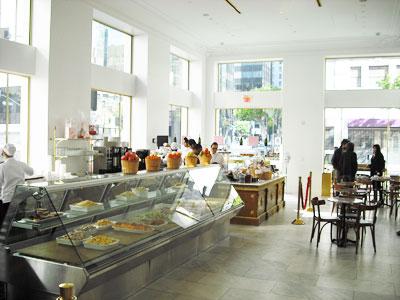 Inside Bottega Louie, in Los Angeles, California