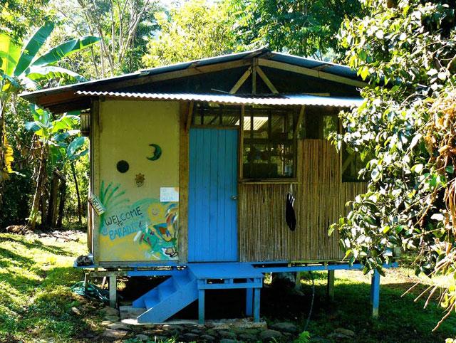 A bungalow in Costa Rica