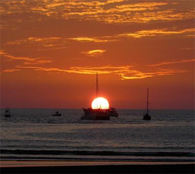 Sunset in Quepos, Costa Rica