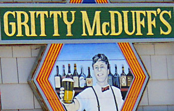 Gritty McDuff's brew pub in Freeport, Maine