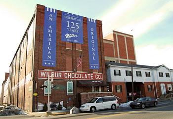 Wilbur Chocolate Factory on Broad Street