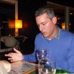 Chef Joao Rieff of 100 Espinhas, Ponta Delgada.