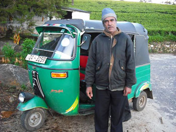 La-la the uk-tuk driver