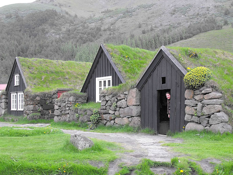 The Skogar Folk Museum in Iceland