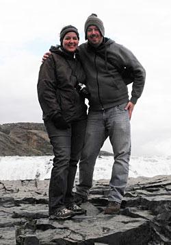 Jim Reynoldson and Stacy Bengston