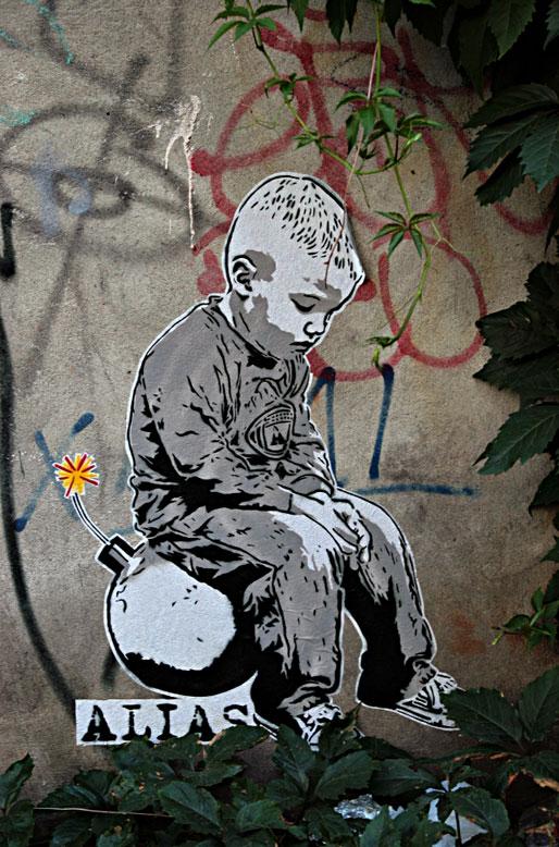 Graffiti in Berlin. Photo by Jen Westmoreland Bouchard.