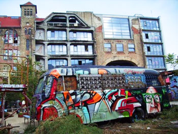 Kunsthaus Tacheles, one of Berlin's underground art centers
