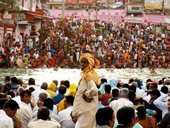 Kumbh Mela, the largest gathering in the world. Photos by David Joshua Jennings.