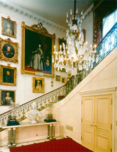 Entry hall of Hillwood Estate