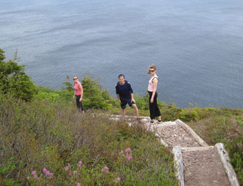 Hiking from Quidi Vidi to Logy Bay