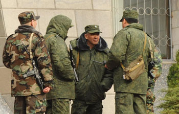 Kazakh Special Forces at the White House