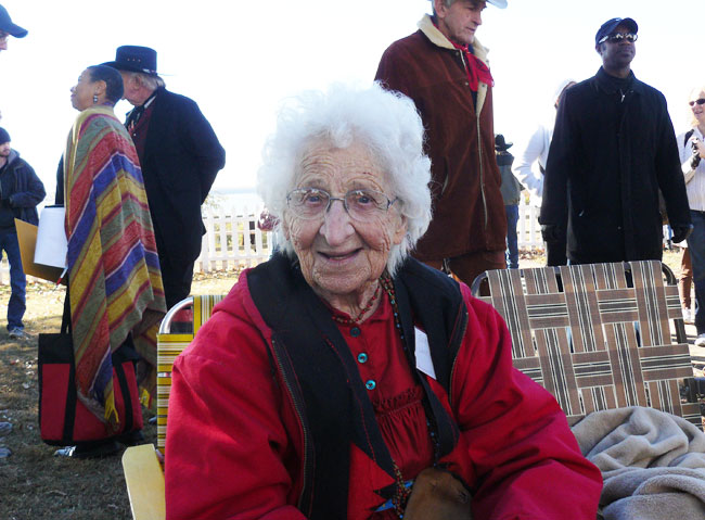 Will's great-niece Ada, still going strong at 92