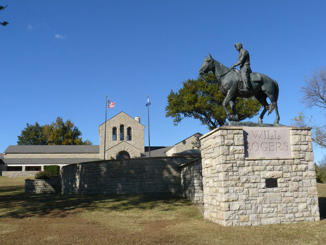 The Will Rogers Memorial in Claremore