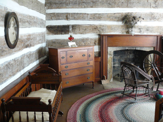 The room where Will was born in 1879
