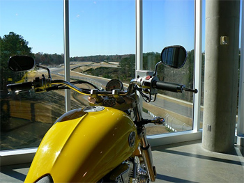 Barber Motorsports has 600 motorcycles on display and their own real racetrack. photo by Max Hartshorne.