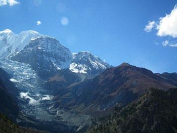 Glacier hike from Manang