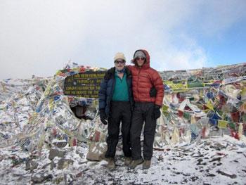 Thorong La - 5416 Meters (17,765 feet)