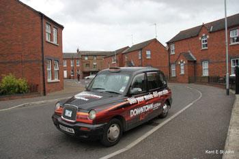 The Black Cab tour of Belfast