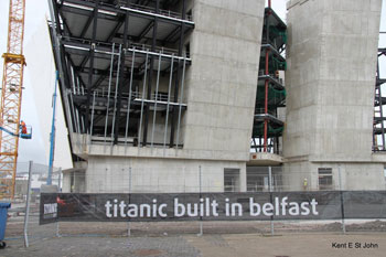 The Titanic Center under construction