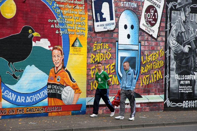 Murals in Belfast, Northern Ireland