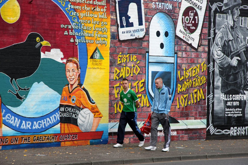 Murals in Belfast, Northern Ireland