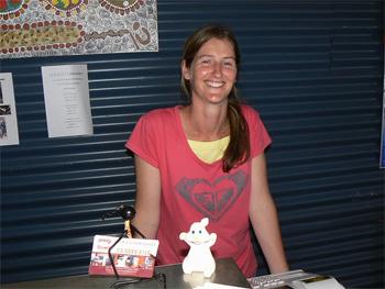 Tiffany Jones of GORGE chocolates, in Princetown, Victoria, Australia.