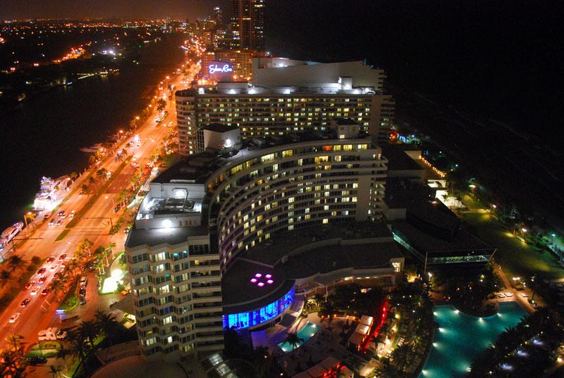 View of South Beach, Miami, Florida