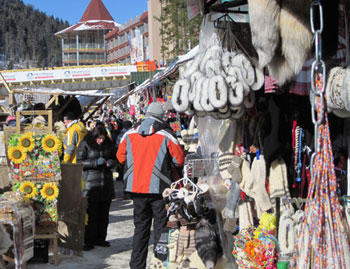 The bazaar at Bukovel