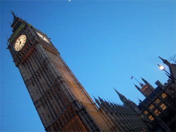 London's Big Ben.
