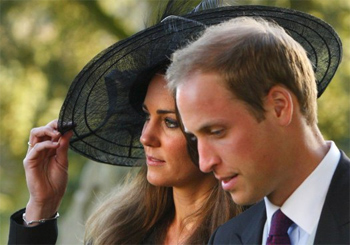 The Royal Couple, William and Kate.