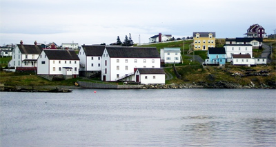 The historic buildings of Ryan Premises and the Bonavista Museum