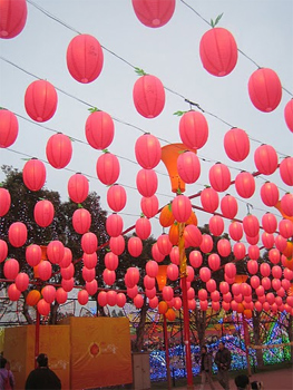 The lantern festival in Miaoli, Taiwan. photos by Mariel Kennison.