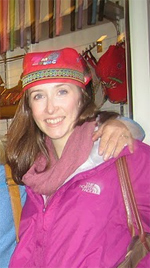 The author wearing an aboriginal Taiwanese hat.