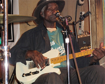 Legendary Henry Gipson, founder of Gip's Juke Joint, Bessemer, Alabama