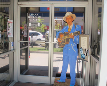 Hank Williams Museum in Alabama.