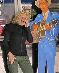 Margie Goldsmith with Hank Williams