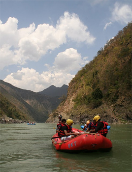 Rafting on the Ganges from Devprayag to Kaudiyala