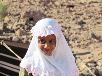 Another friendly Bedouin face.